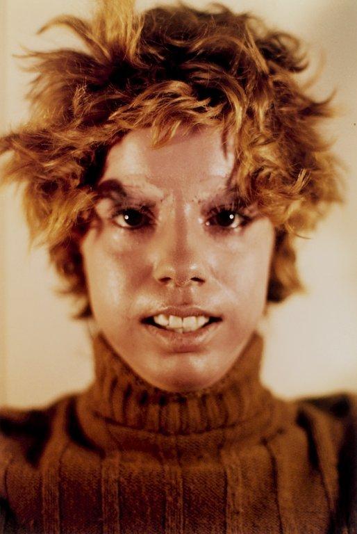 Ana Mendieta. 'Untitled (Facial Cosmetic Variations)' (detail) 1972