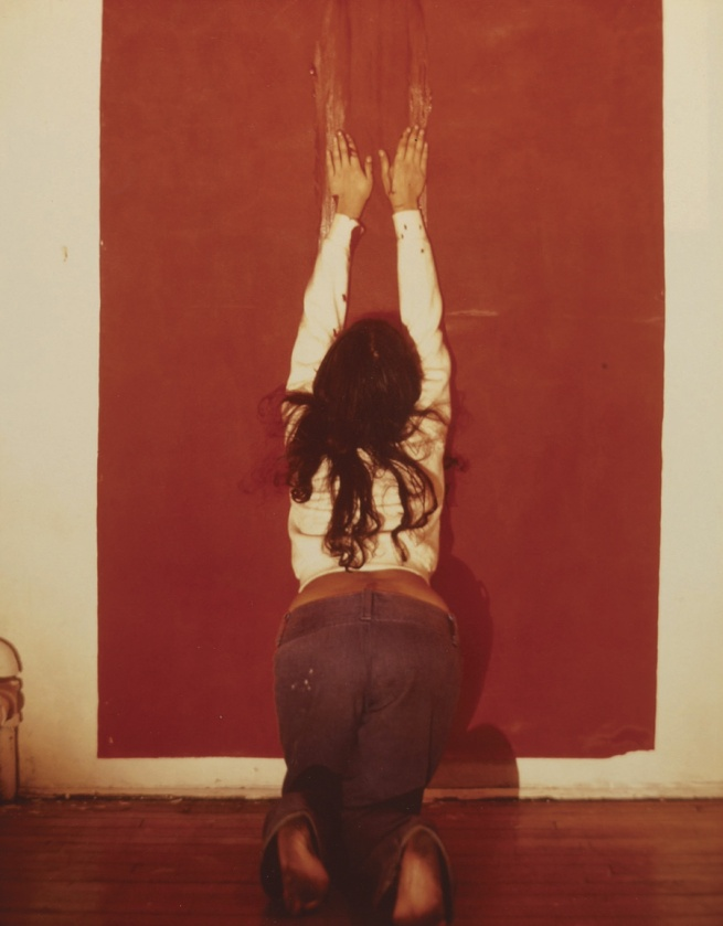 Ana Mendieta. 'Untitled (Body Tracks)' 1974
