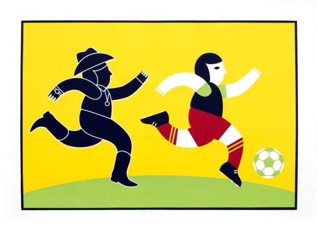Ana Serrano. 'Narco Soccer' 2013