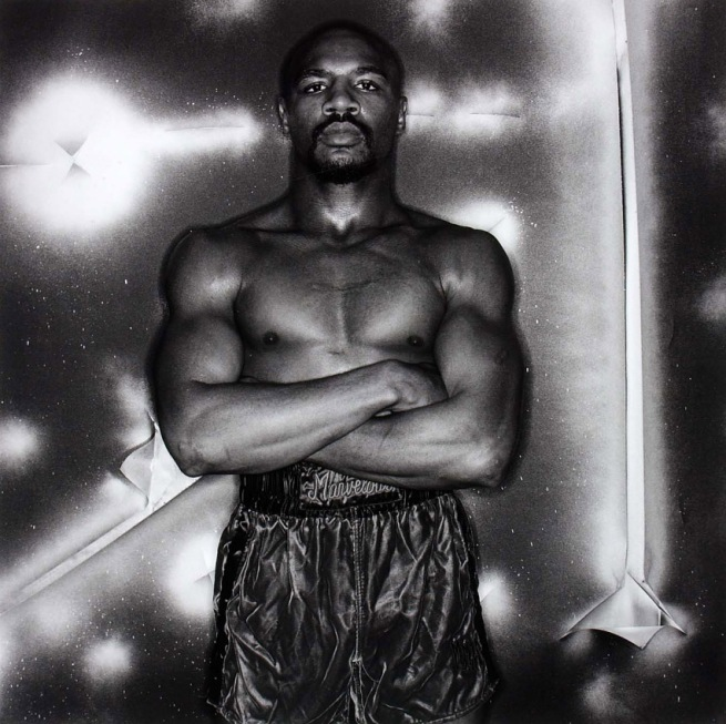 Anthony Barboza. ''Marvelous' Marvin Hagler, boxer' 1981