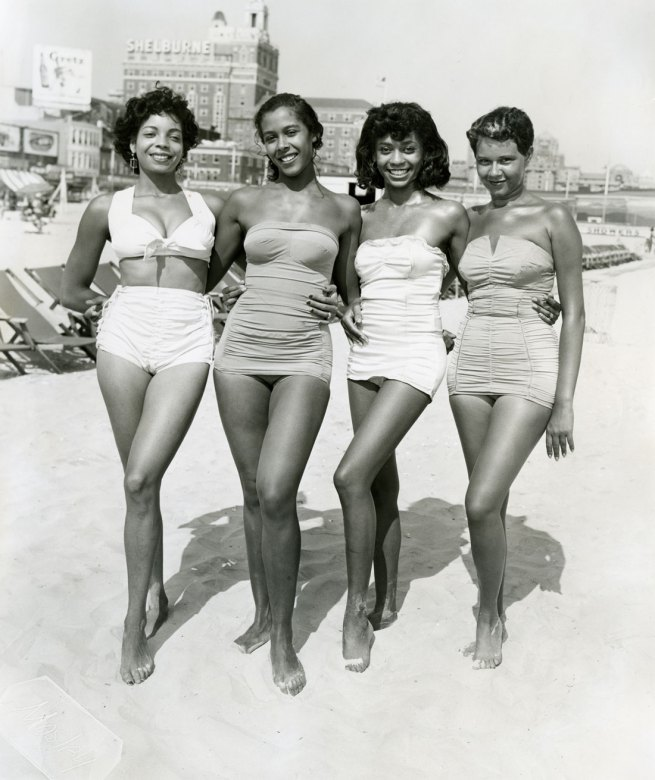 John W. Mosley. 'Atlantic City, Four Women' c. 1960s