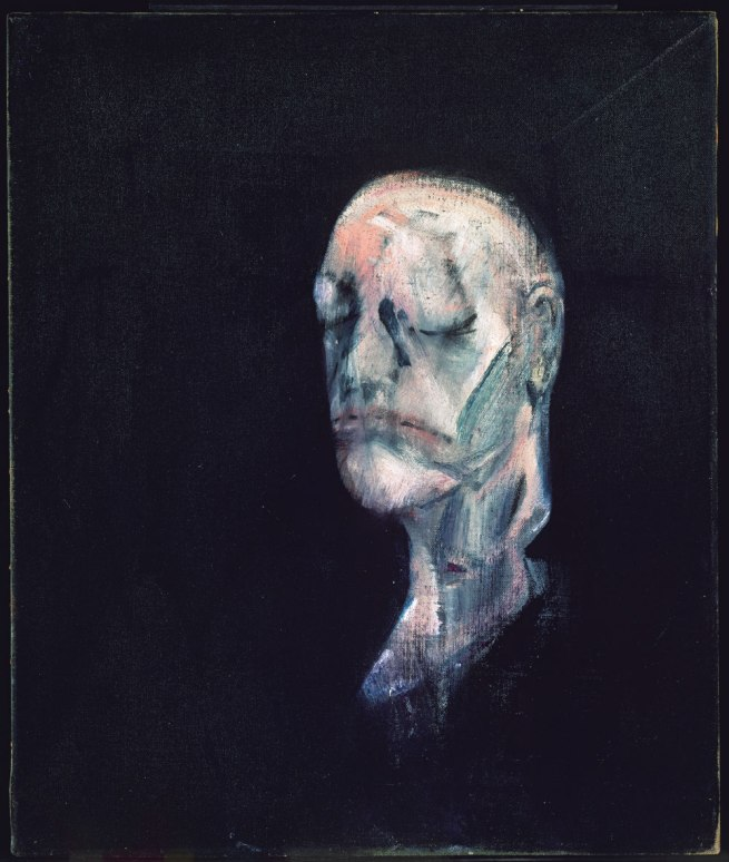 Francis Bacon. 'Study for Portrait II (After the life mask of William Blake)' 1955