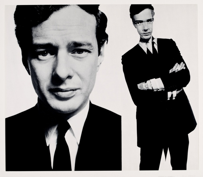 David Bailey. 'Brian Epstein (Box of Pin-Ups)' 1965