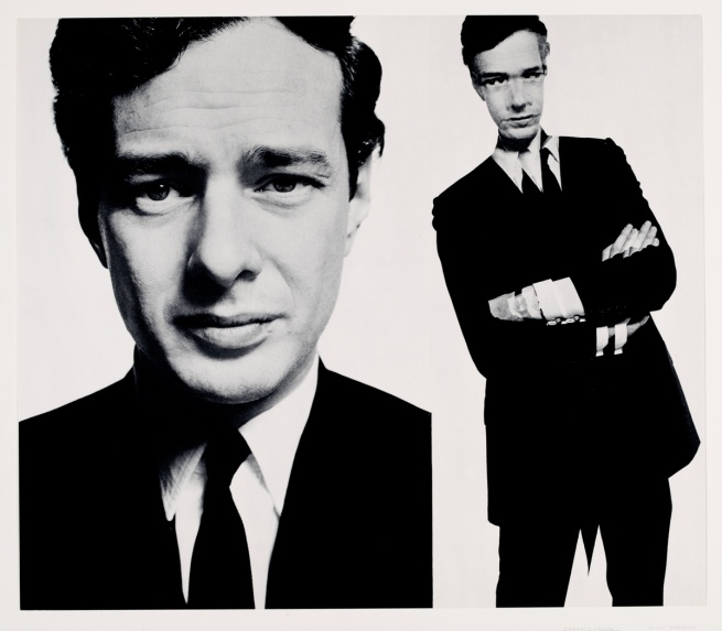 David Bailey. 'Brian Epstein (Box of Pin-Ups)' 1965