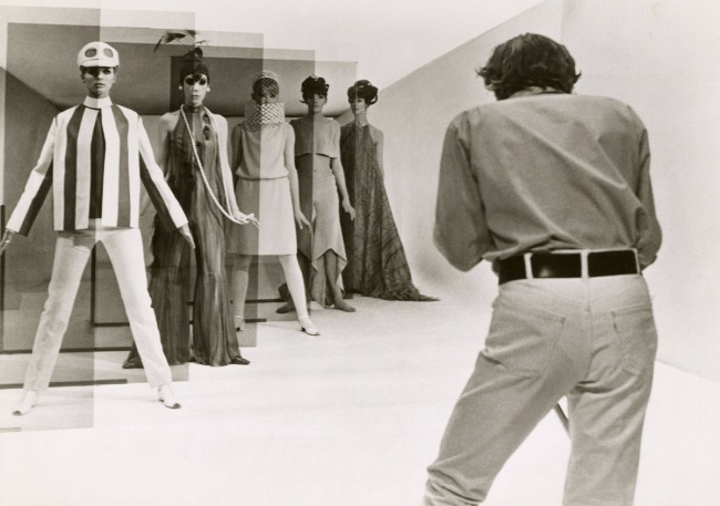 "Arthur Evans. 'David Hemmings in ""Blow Up"" (directed by Michelangelo Antonioni)' 1966"