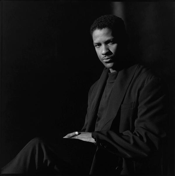 Jeffrey Henson Scales. 'Denzel Washington, Los Angeles' 1990s