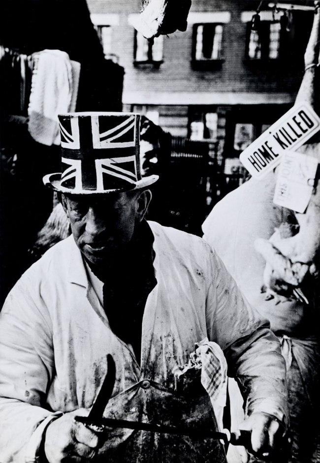 Don McCullin. 'British Butcher, East London' c. 1965