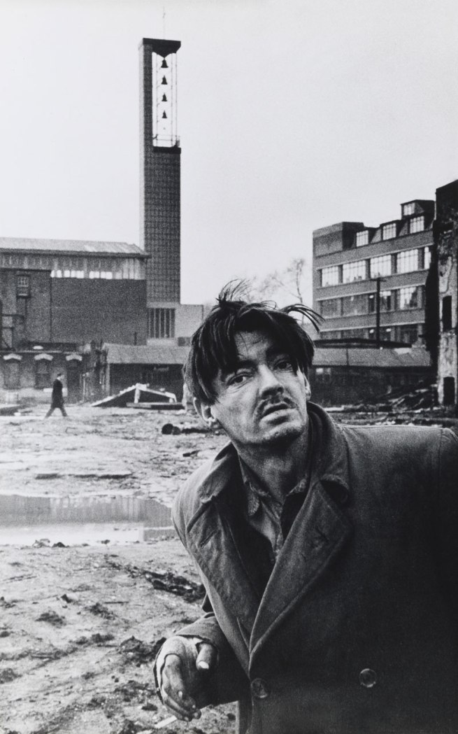 Don McCullin. 'Down-and-out begging for help, Aldgate, 1963' 1963