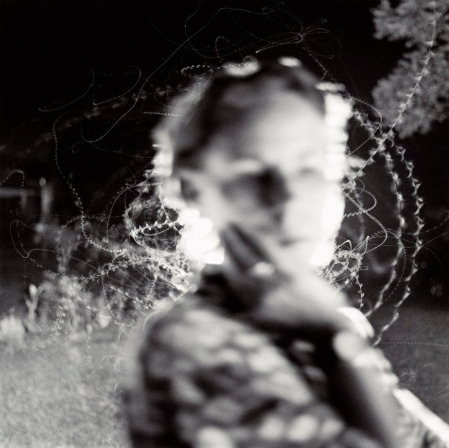 Emmet Gowin. 'Edith and Moth Flight' 2002