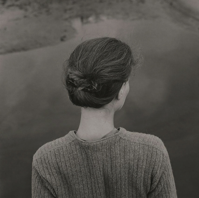 Emmet Gowin. 'Edith, Chincoteague Island (Virginia)' 1967