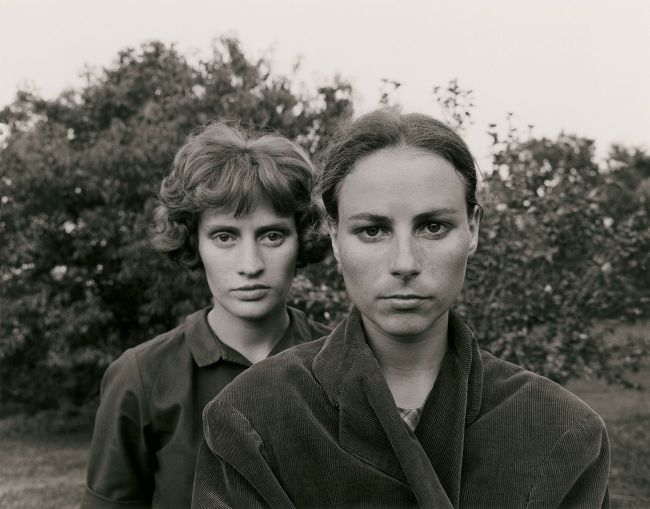 Emmet Gowin. 'Edith and Ruth, Danville (Virginia)' 1966