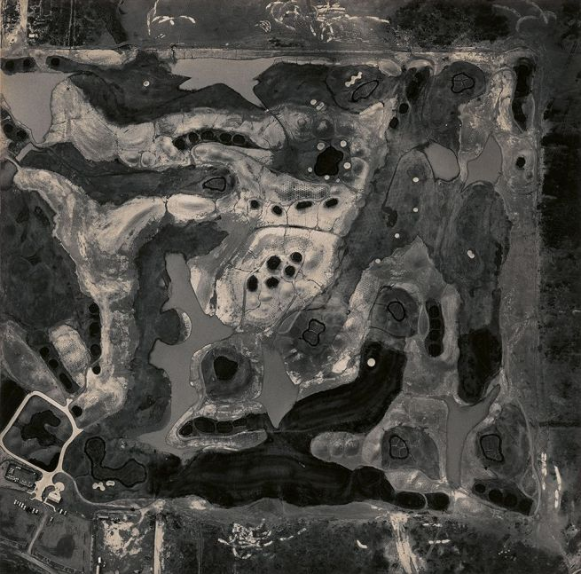 Emmet Gowin. 'Golf Course under Construction (Arizona)' 1993