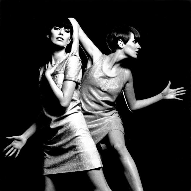 Eric Swayne. 'Grace and Telma, Italian Vogue, 1966' 1966