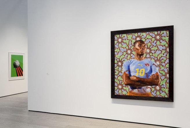 Kehinde Wiley. 'Samuel Eto'o' 2010