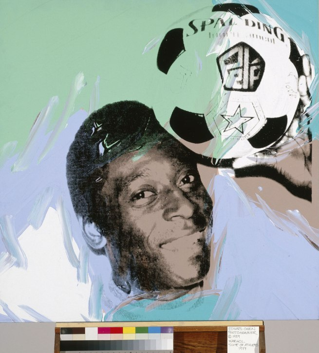 Andy Warhol. 'Pele' 1978