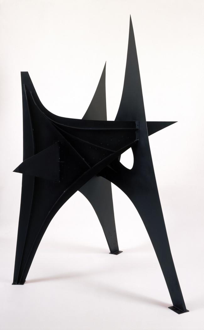 Alexander Calder. 'Trois Pics (intermediate maquette)' 1967