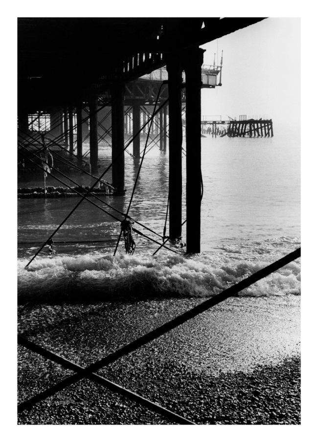 Marcus Bunyan(Australian, b. 1958) 'Brighton Pier (vertical)' 1984
