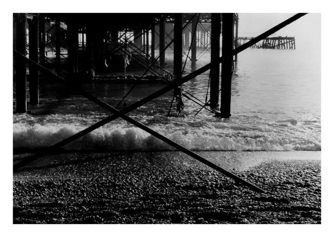 Marcus Bunyan(Australian, b. 1958) 'Brighton Pier (horizontal)' 1984