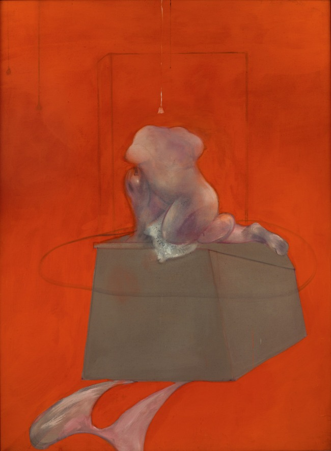Francis Bacon. 'Unitled ( Kneeling Figure)' 1982