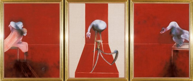 Francis Bacon. 'Second Version of Triptych 1944' 1988