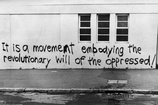 Anonymous. 'Graffiti on Melbourne streets' 1971-73