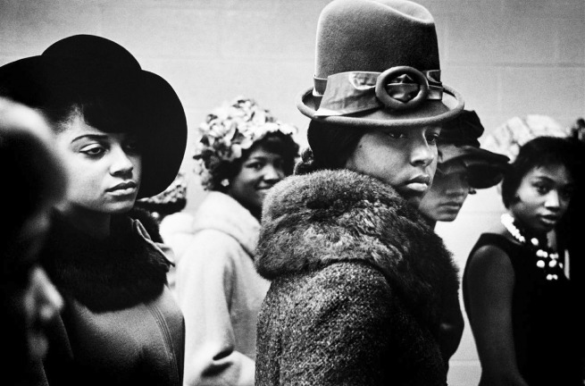 Leonard Freed. 'Harlem Fashion Show, Harlem' 1963