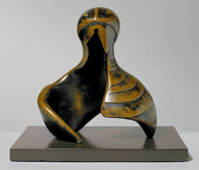 Henry Moore. 'Helmet Head and Shoulders' 1952