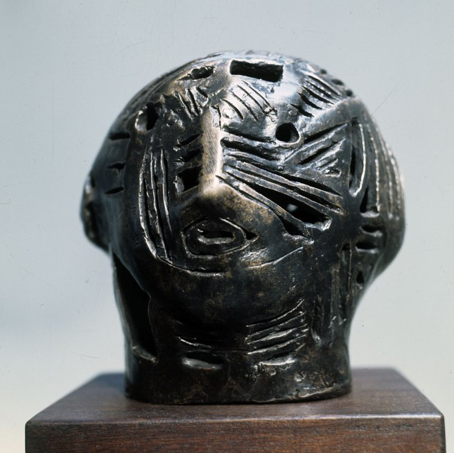 Henry Moore. 'Maquette for Strapwork Head' 1950