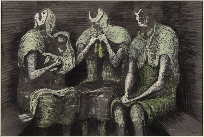 Henry Moore. 'Three Fates' 1941
