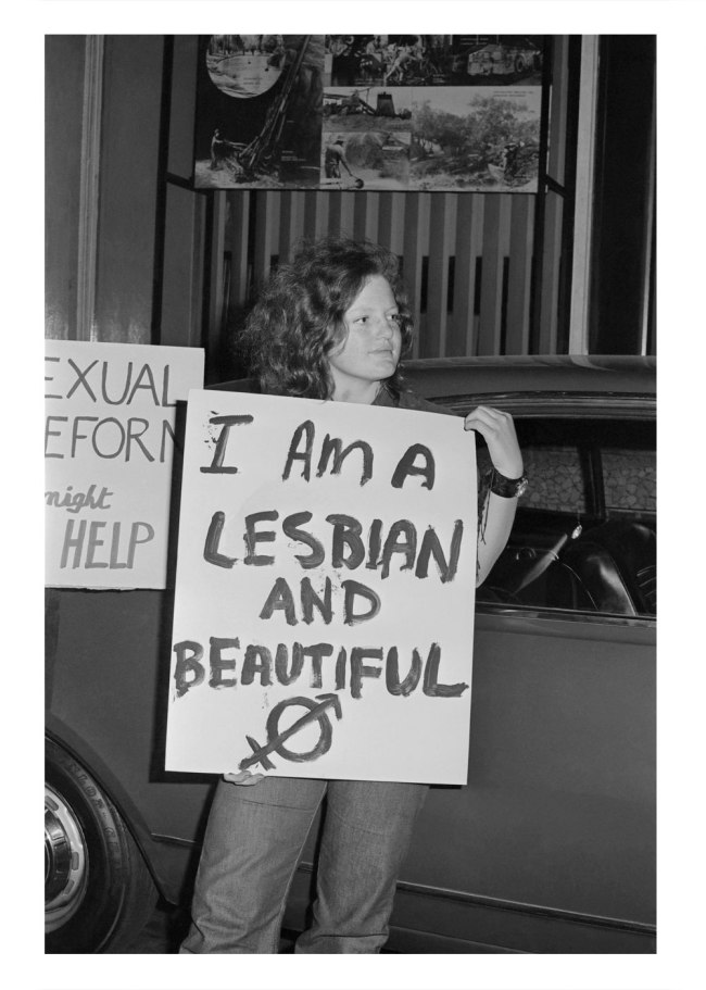 Phillip Potter. 'I am a Lesbian and Beautiful' 1971, printed 2014