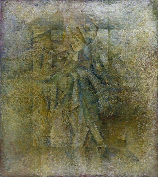 Ian Stephenson. 'Still Life Abstraction D1' 1957