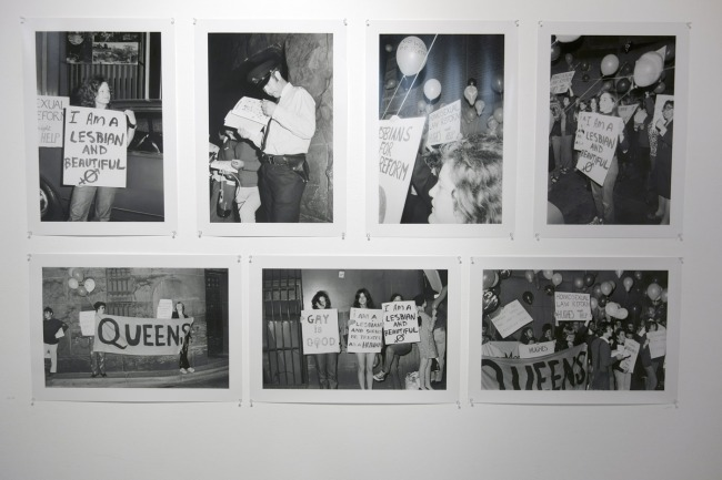 Phillip Potter and John Storey photographs of the first ever Gay Liberation protest in Sydney in 1971