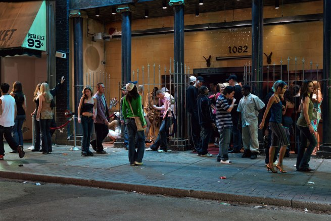 Jeff Wall. 'In Front of a Nightclub' 2006
