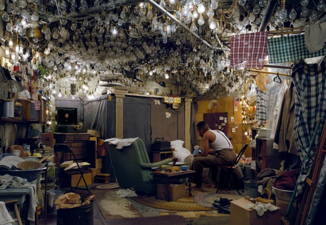 Jeff Wall. 'Invisible man by Ralp Ellison, The Prologue' 1999-2000