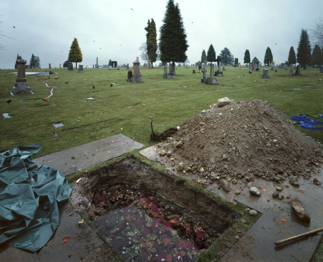 Jeff Wall. 'The Flooded Grave' 1998-2000