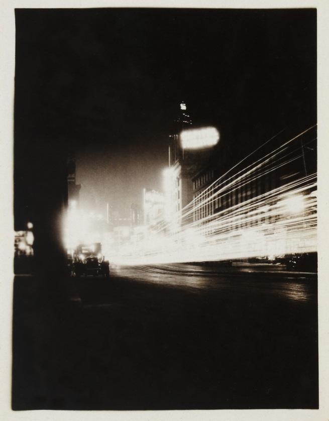 Knud Lonberg-Holm. 'New York, Times Square' 1923