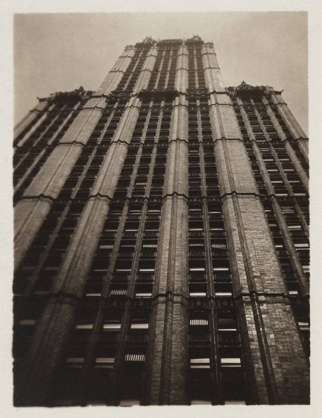Knud Lonberg-Holm. 'Woolworth Building - Oblique View' 1923