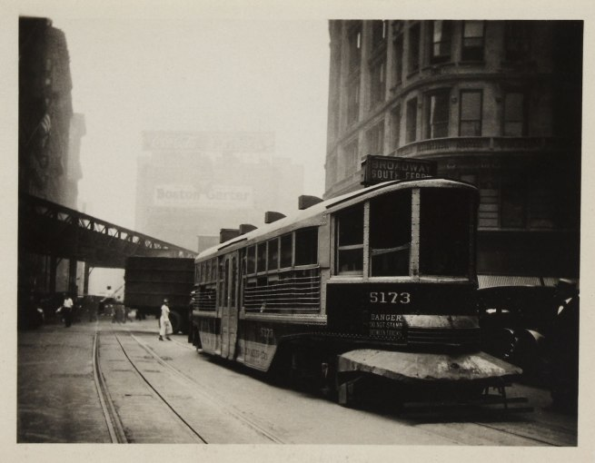 Knud Lonberg-Holm. 'The New - The Coming, Detroit, Streetcars' 1924