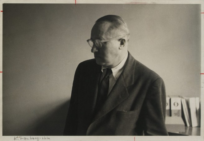 'Portrait of Knud Lonberg-Holm' New York, 1950s (prior to 1960)