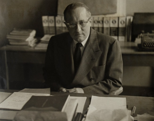 'Portrait of Knud Lonberg-Holm' New York, 1950s (prior to 1960)