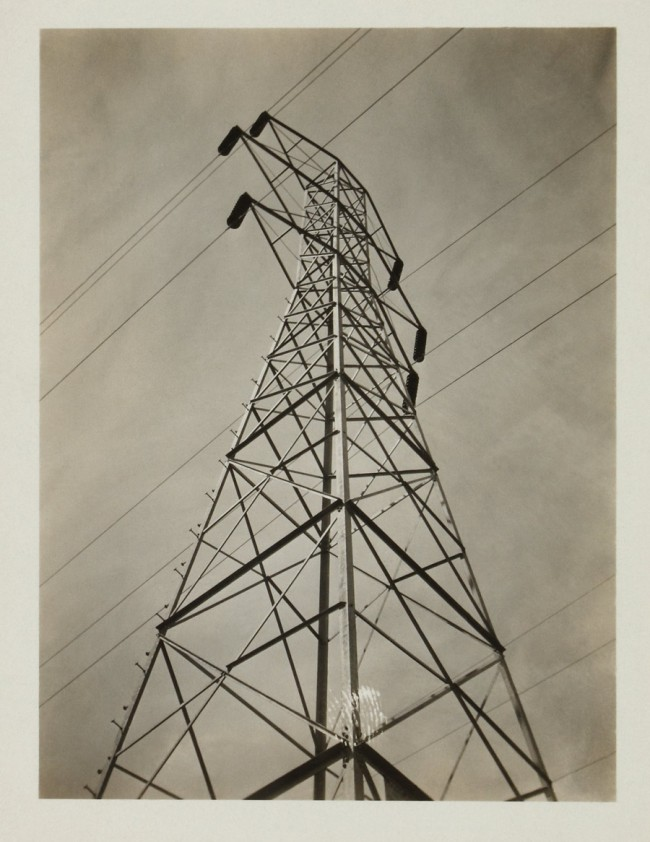 Knud Lonberg-Holm. 'Photograph of Antenna' c. 1923-1924
