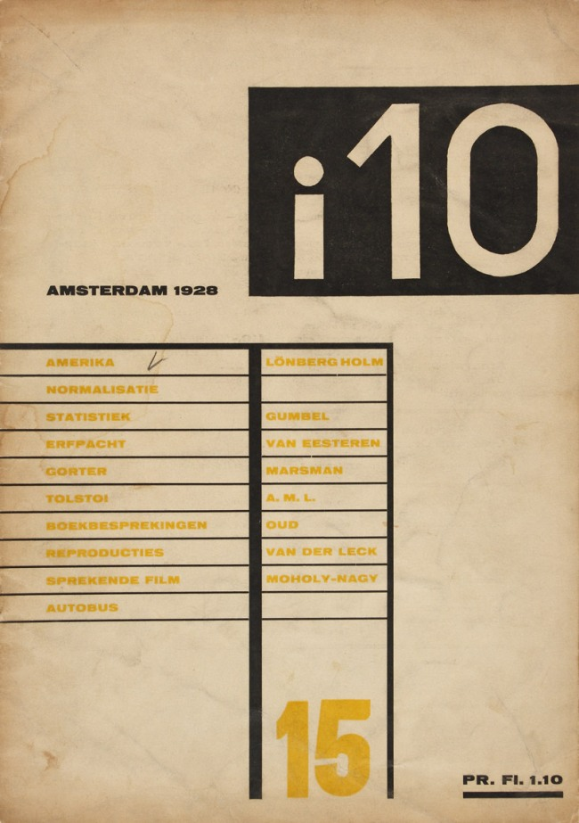 "i10 ""America, Reflections"" (by Knud Lonberg-Holm) No. 15, October 20, 1928"