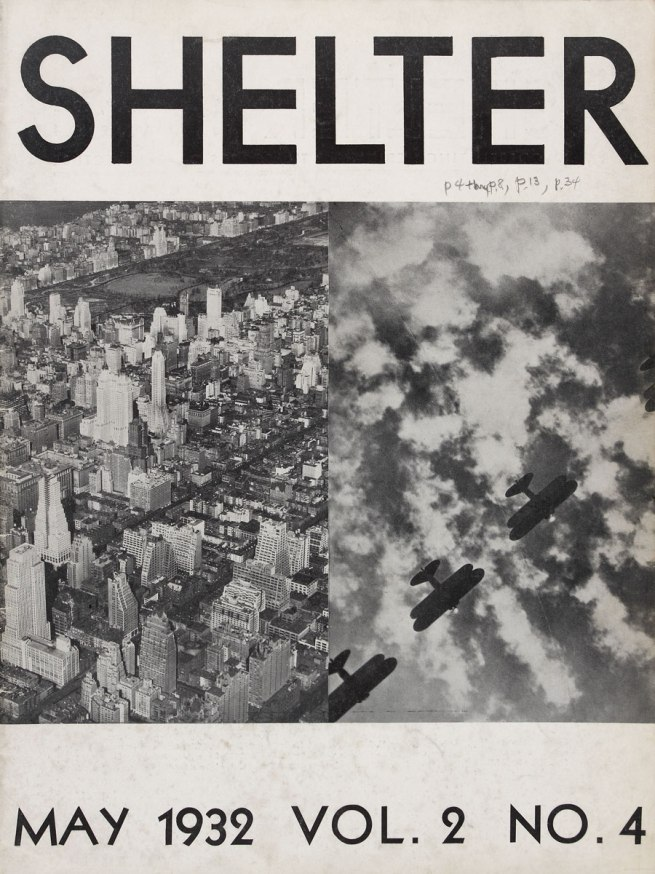 'Shelter now' Cover design by Knud Lonberg-Holm Vol. 2, No. 4, May 1932