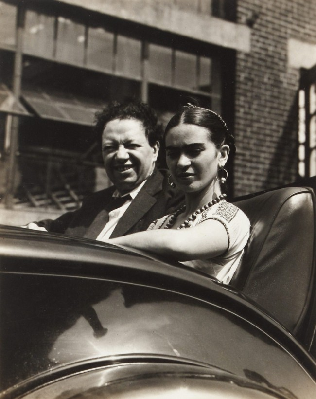 Knud Lonberg-Holm. 'Diego Rivera and Frida Kahlo' Bridgeport, Connecticut, July 21, 1933