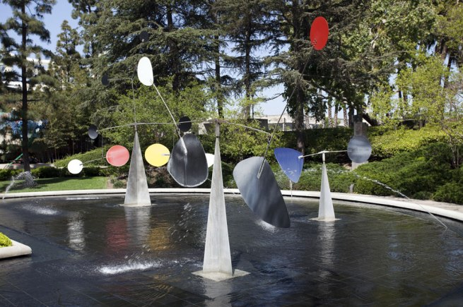 Alexander Calder. 'Three Quintains (Hello Girls)' 1964