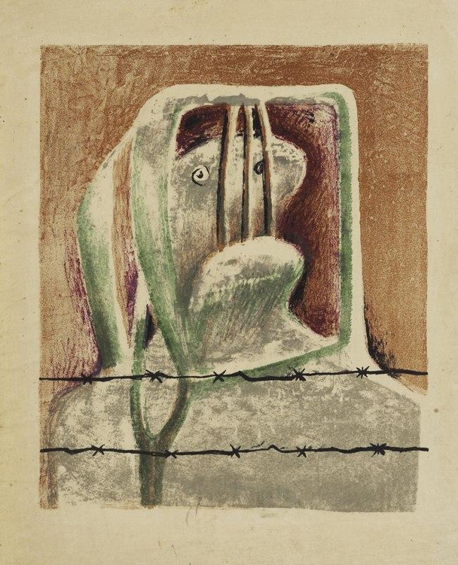Henry Moore. 'Spanish Prisoner' 1939