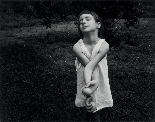 Emmet Gowin. 'Nancy, Danville (Virginia)' 1969