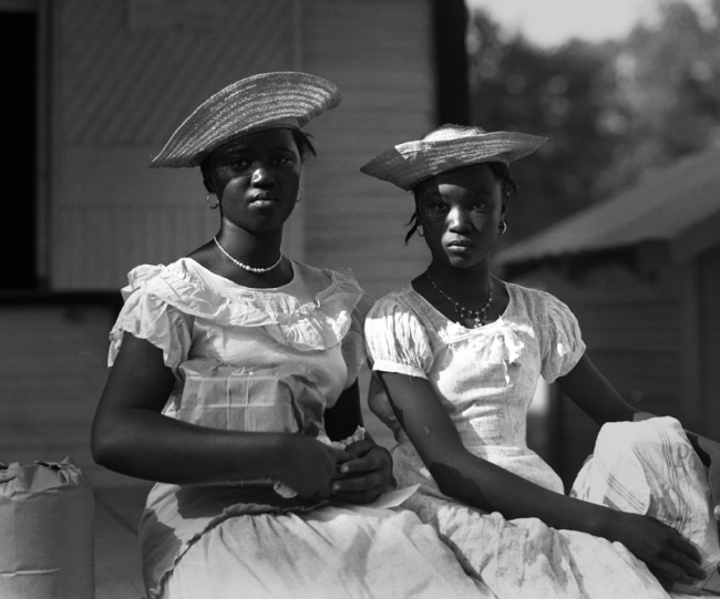 Theodore Fonville Winans (American, 1911-1992) 'Dixie Belles, Central Louisiana' 1938