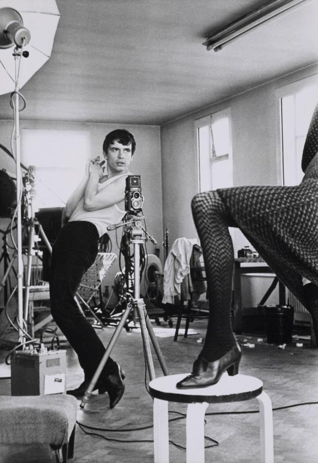 Terry O'Neill. 'David Bailey photographing Moyra Swan' 1965