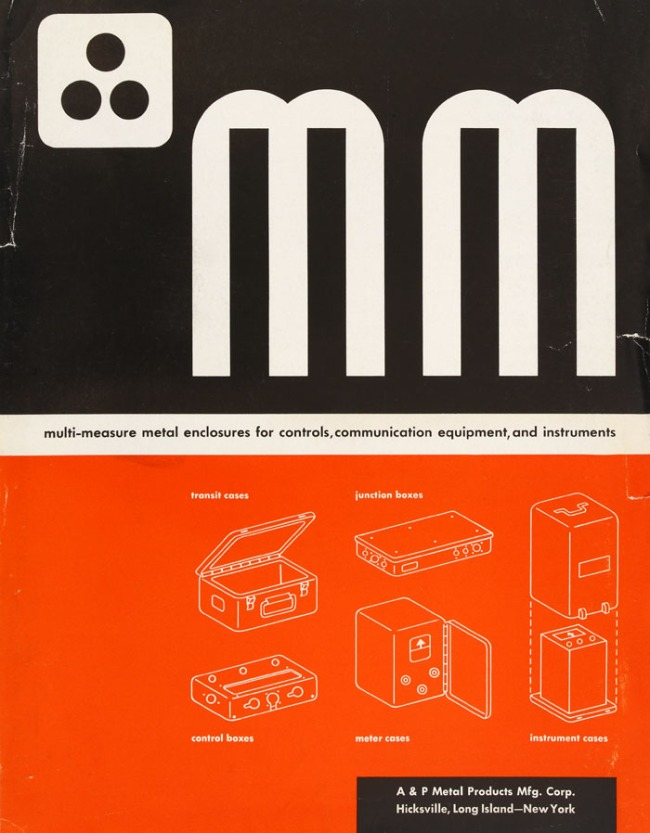 The cover of a catalog for 'Multi-Measure Metal Enclosures'